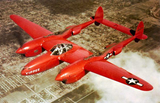 Lockheed p 38 lightning yippee