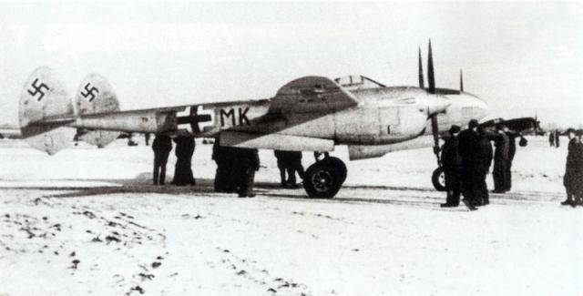 Lockheed p 38 t9 mk