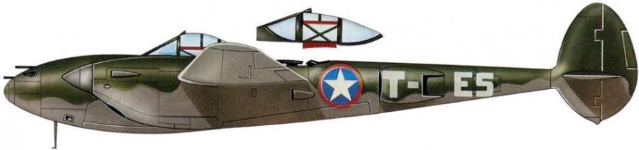 Lockheed p 38f 14th fg 48th fs 12th af
