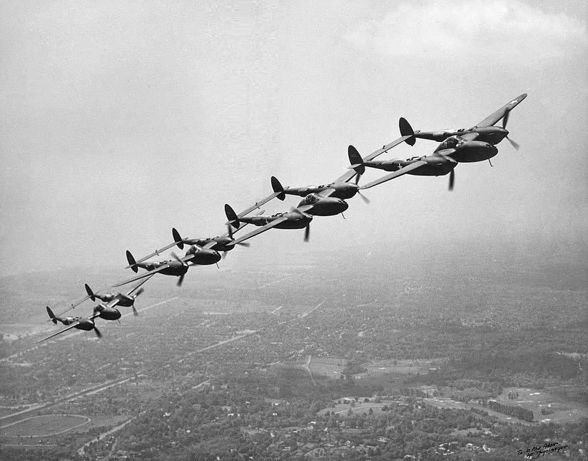 Lockheed p 38f