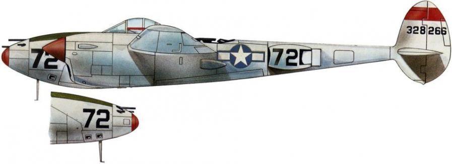 Lockheed p 38j 14th fg 48th fs
