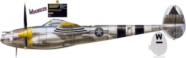 Lockheed p 38j 15 43 28393 cy wilson 20th fg