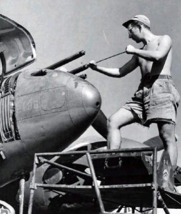Lockheed p 38j 42 67628 459th fs 80th fg