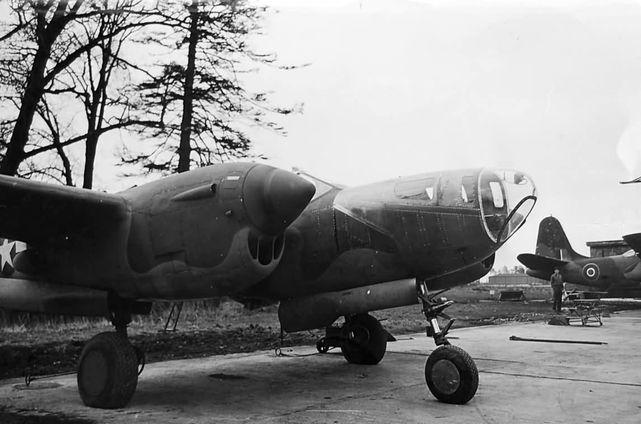 Lockheed p 38j droop snoot