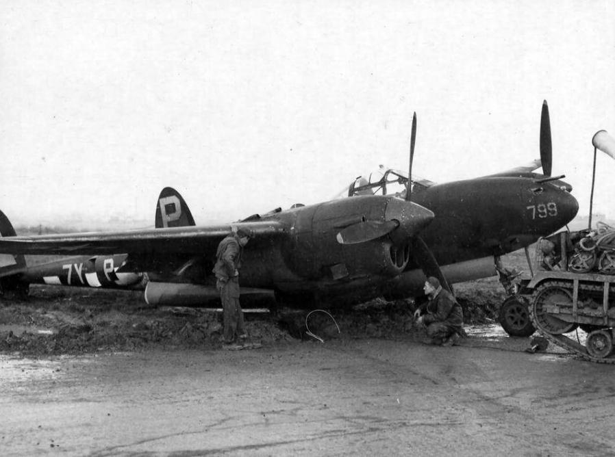 Lockheed p 38j lightning 42 67799 429th fs 474th fg