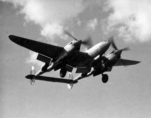 Lockheed p 38j lightning 434 fs 479 fg