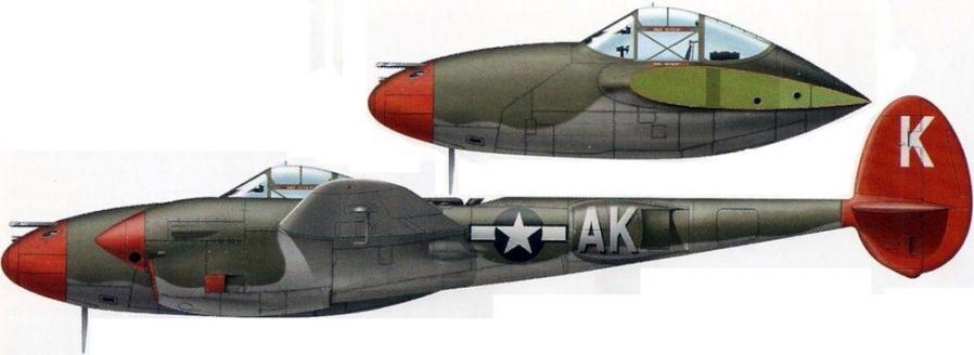 Lockheed p 38j lightning 95th fs 82nd fg vincenzo italy 1944