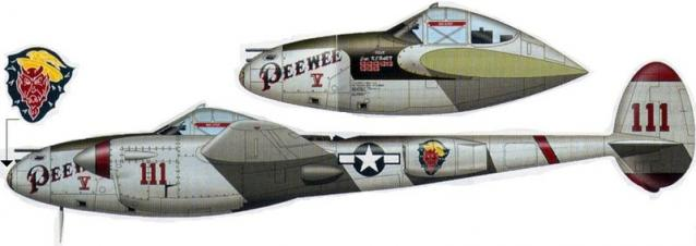 Lockheed p 38l 5 44 25863
