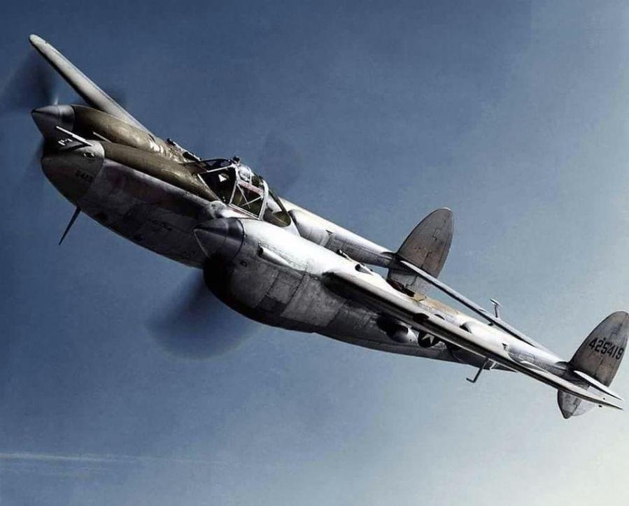 Lockheed p 38l 5 lightning sn 44 25419