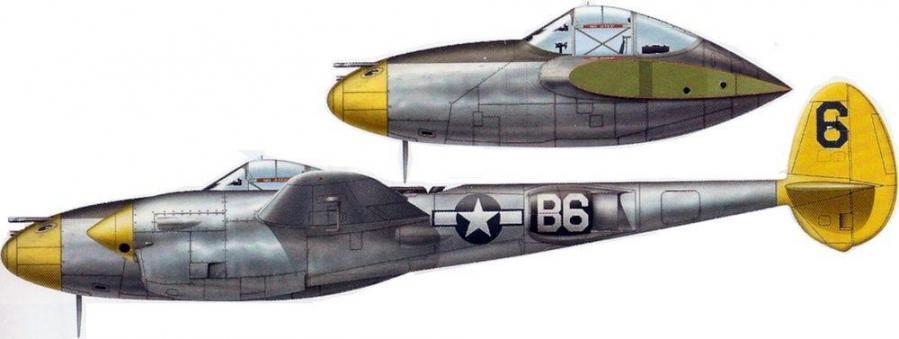 Lockheed p 38l lightning 96th fs 82nd fg vincenzo italy 1944