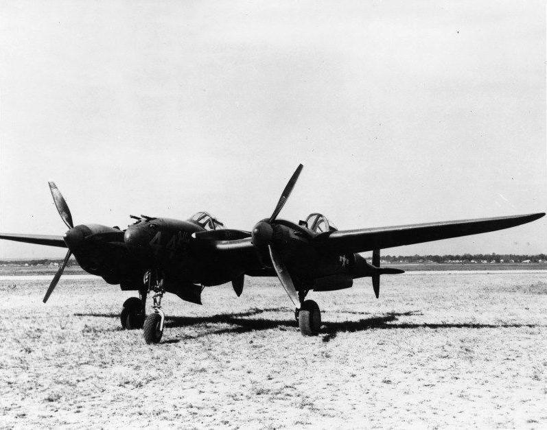 Lockheed p 38l lo lightning 40 744 twin cockpit