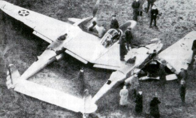 Lockheed xp 38 37 457 crash landing 11 february 1939