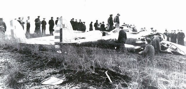 Lockheed xp 38 37 457 crash landing 11 february 1940