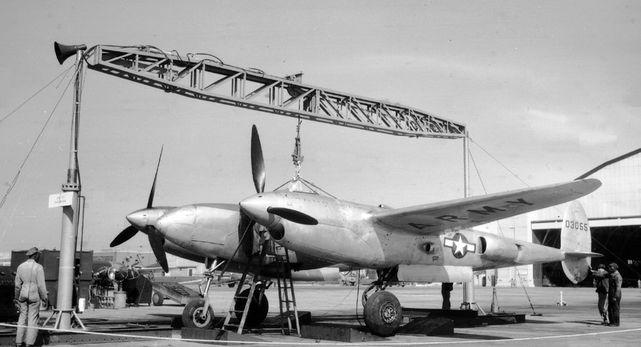 Lockheed xp 49 40 3055