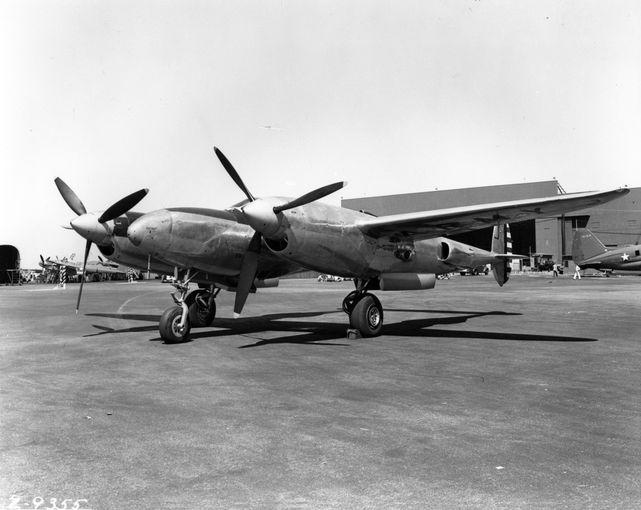 Lockheed xp 49 40 3055 burbank