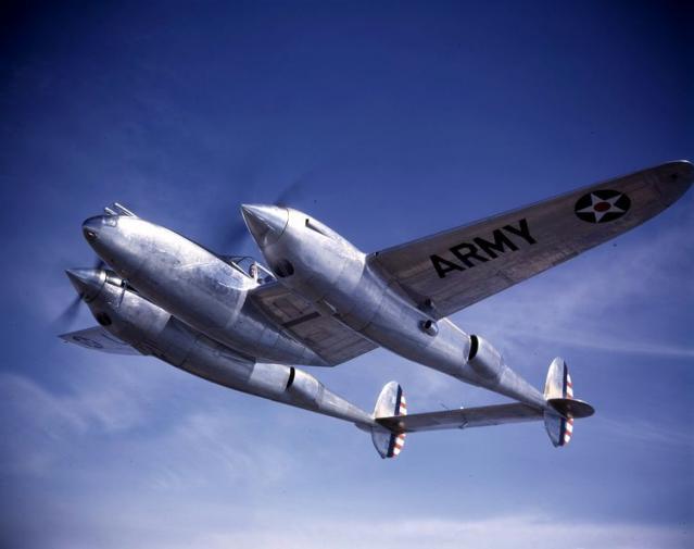 Lockheed yp 38 39 692