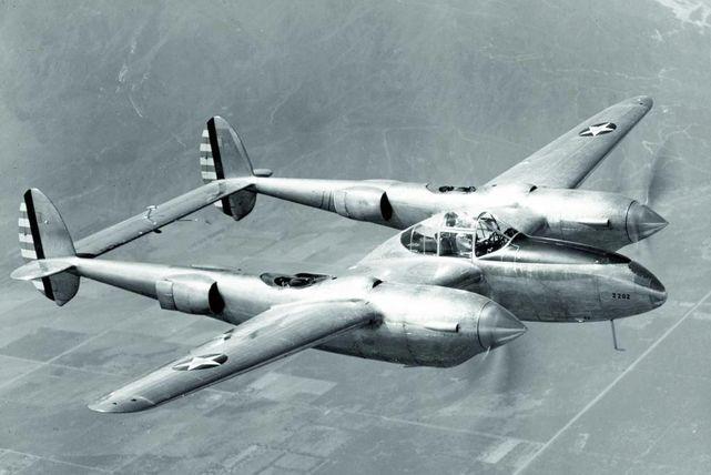 Lockheed yp 38 lightning 39 689