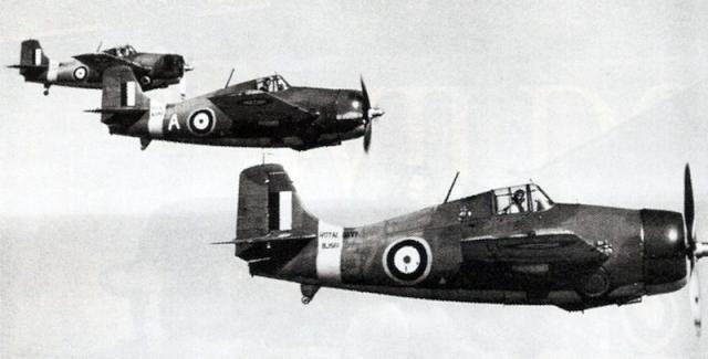 Martlet 804 squadron bj562