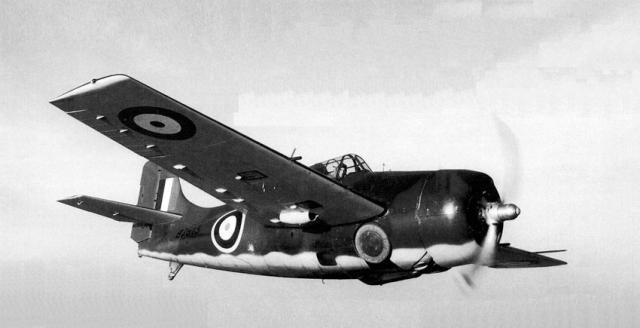 Martlet mk i no 804 squadron