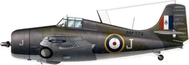 Martlet mk ii no 881 squadron hms illustrious