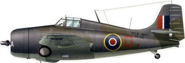 Martlet mk iv no 811 squadron hms biter