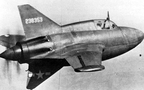 Northrop xp 56 42 38353