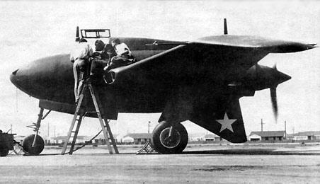 Northrop xp 56 bis