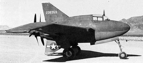 Northrop xp 56 black bullet 42 38353