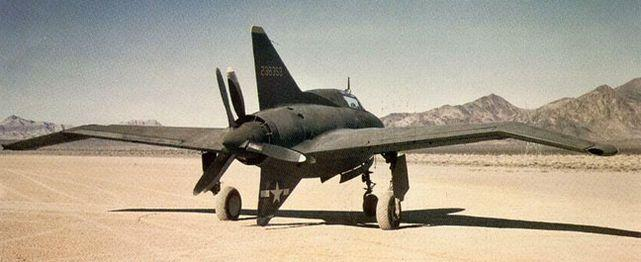Northrop xp 56 black bullet second aircraft 42 38353