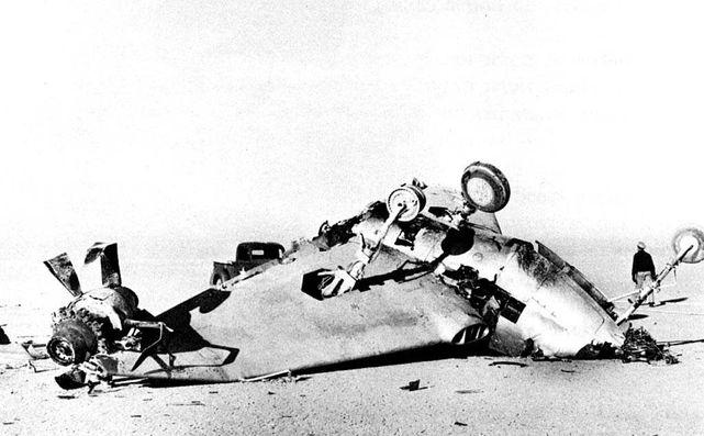 Northrop xp 56 crash