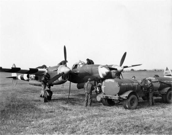 P 38 20th fg