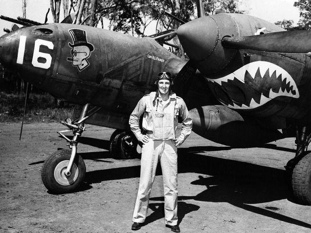 P 38 f capt robert l faurot
