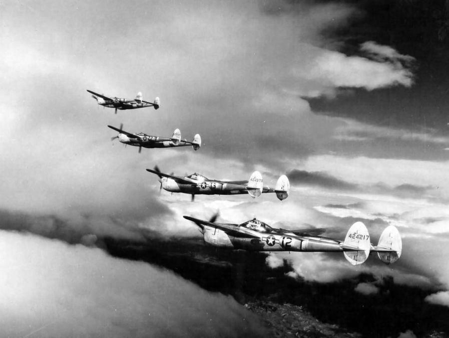 P 38 lightning american air museum upl 24472