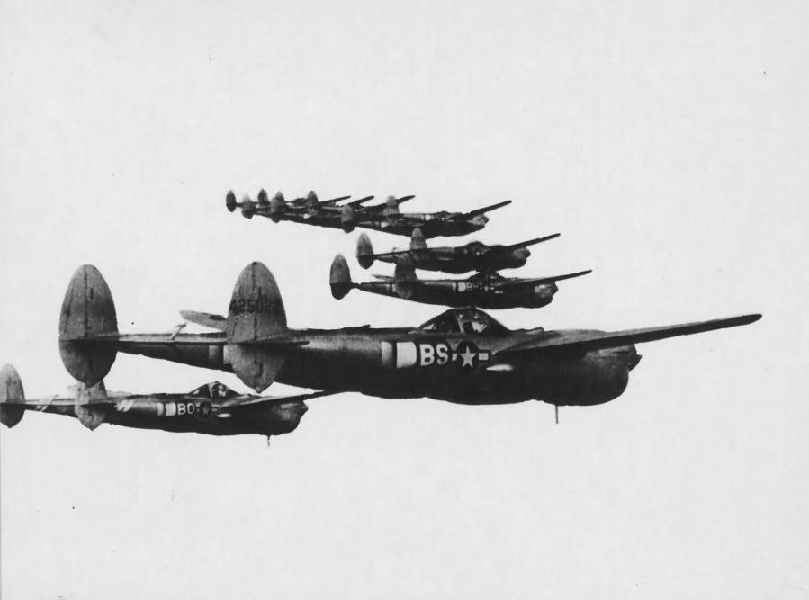P 38l lightning 96th fs 82nd fg