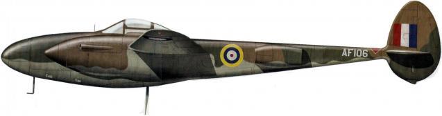 P38 lightning af106 profile