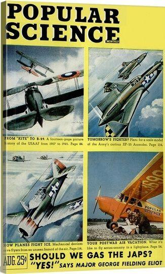 Popular science august 1945 front cover 1