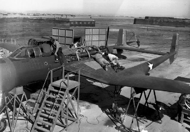 Vultee xp 54 41 1210 maintenance