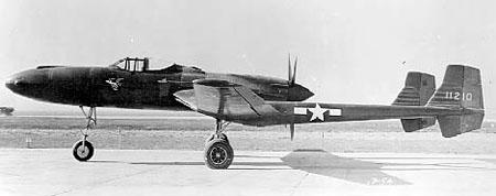 Vultee xp 54 left view