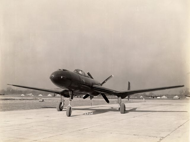 Vultee xp 54 nose view 2 bis