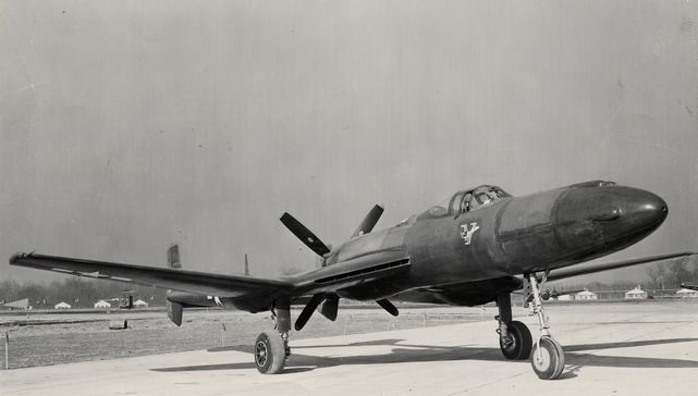 Vultee xp 54 nose view bis