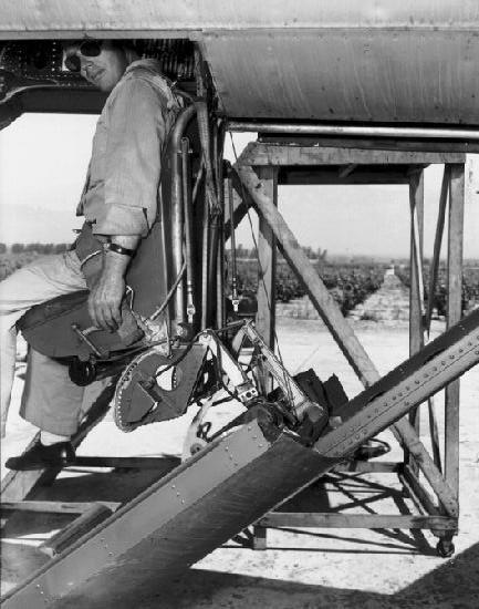 Vultee xp 54 pilot seat 2