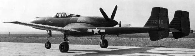 Vultee xp 54 prototype 41 1210