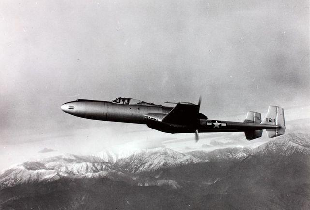 Vultee xp 54 prototype 41 1211