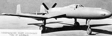 Vultee xp 54 right view