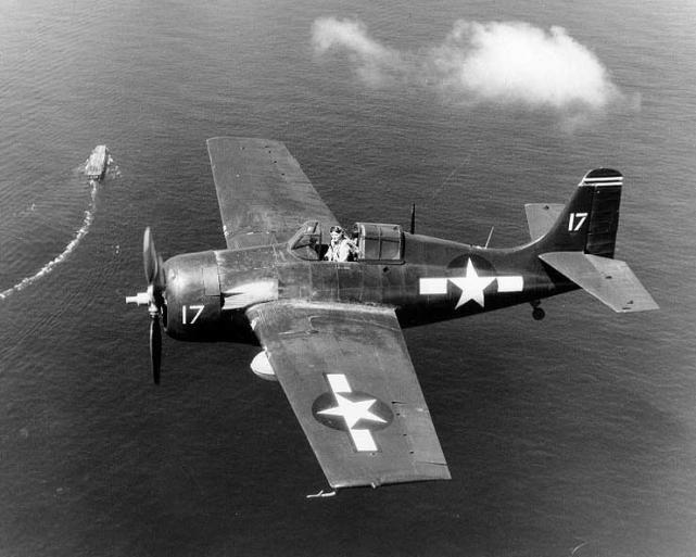 Wildcat uss santee 1944